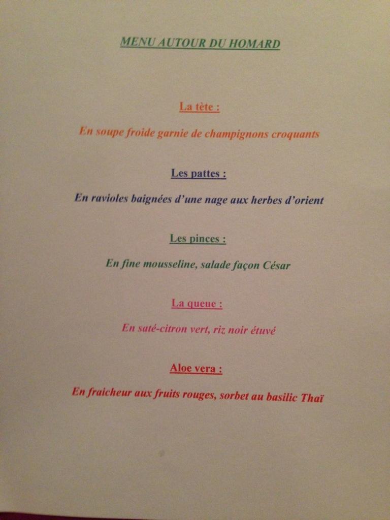 menu passiflore