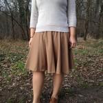 Couture – Ma jupe midi en cachemire