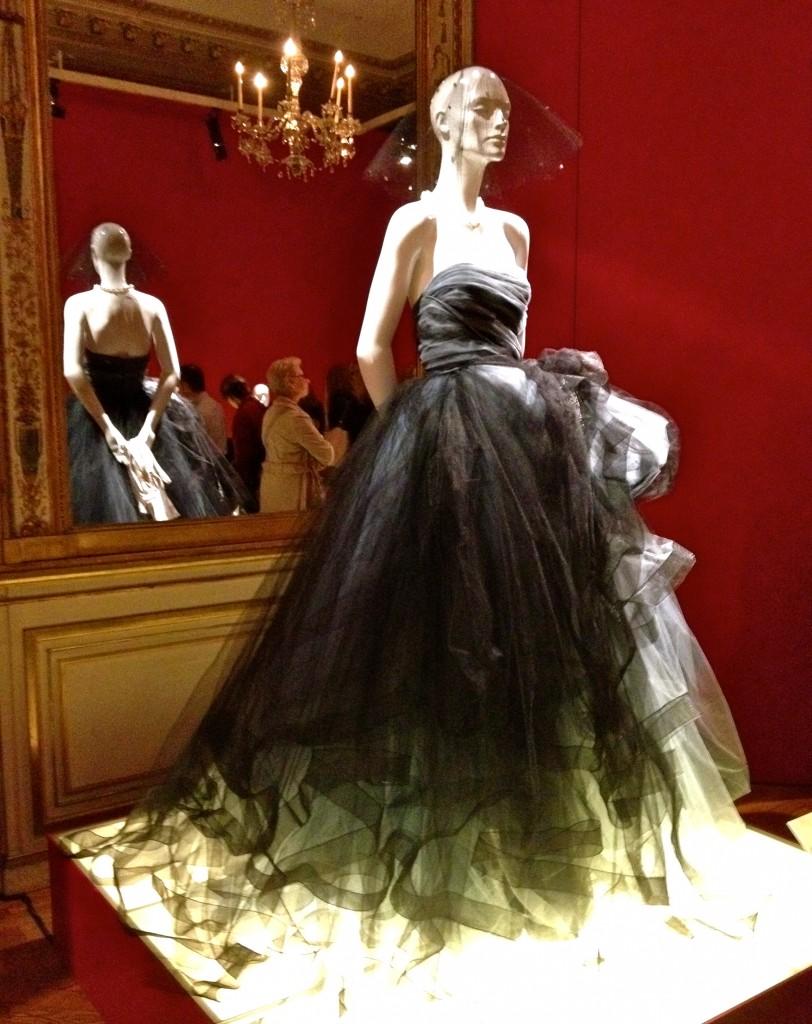 Robe Oscar de la Renta en tulle et taffetas, automne 2012.