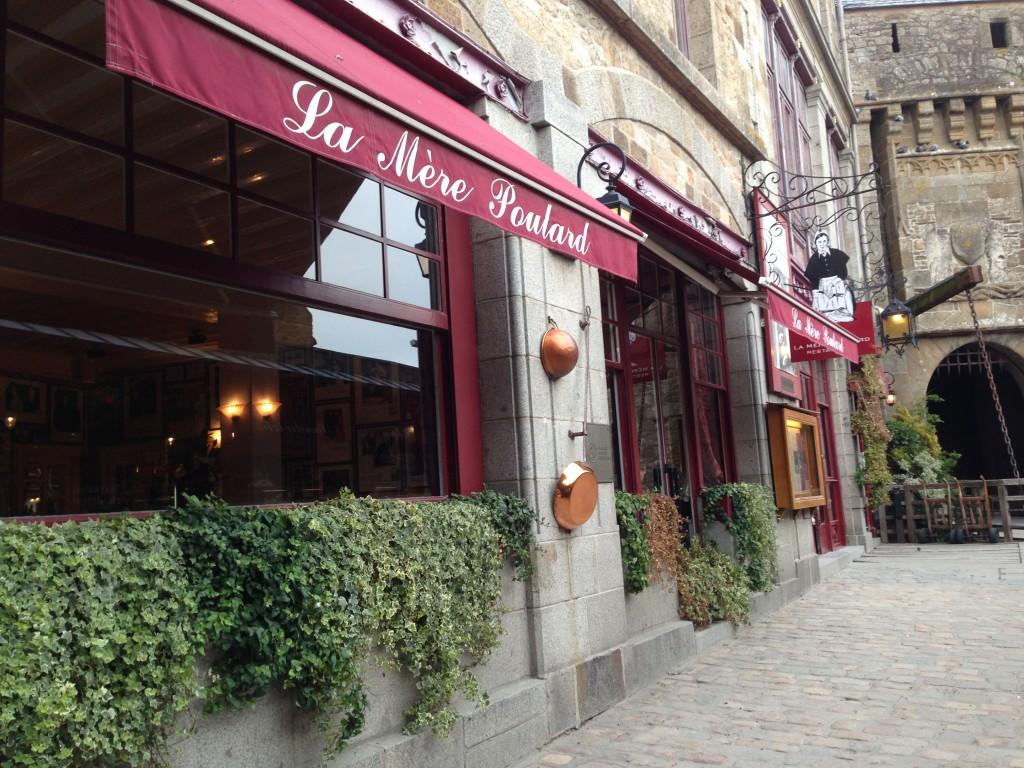 Restaurant la mere poulard mont saint michel