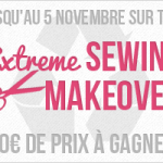 Couture – Participation au concours Extreme Sewing Makeover