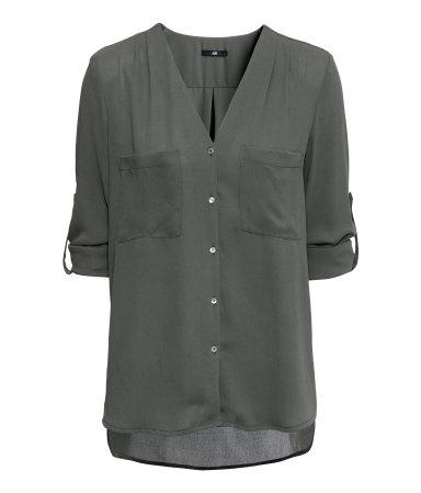 hm blouse mousseline