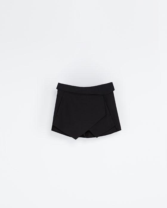jupe short Zara