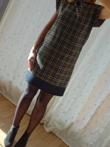 robe tartan 013