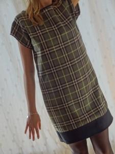 robe tartan 031
