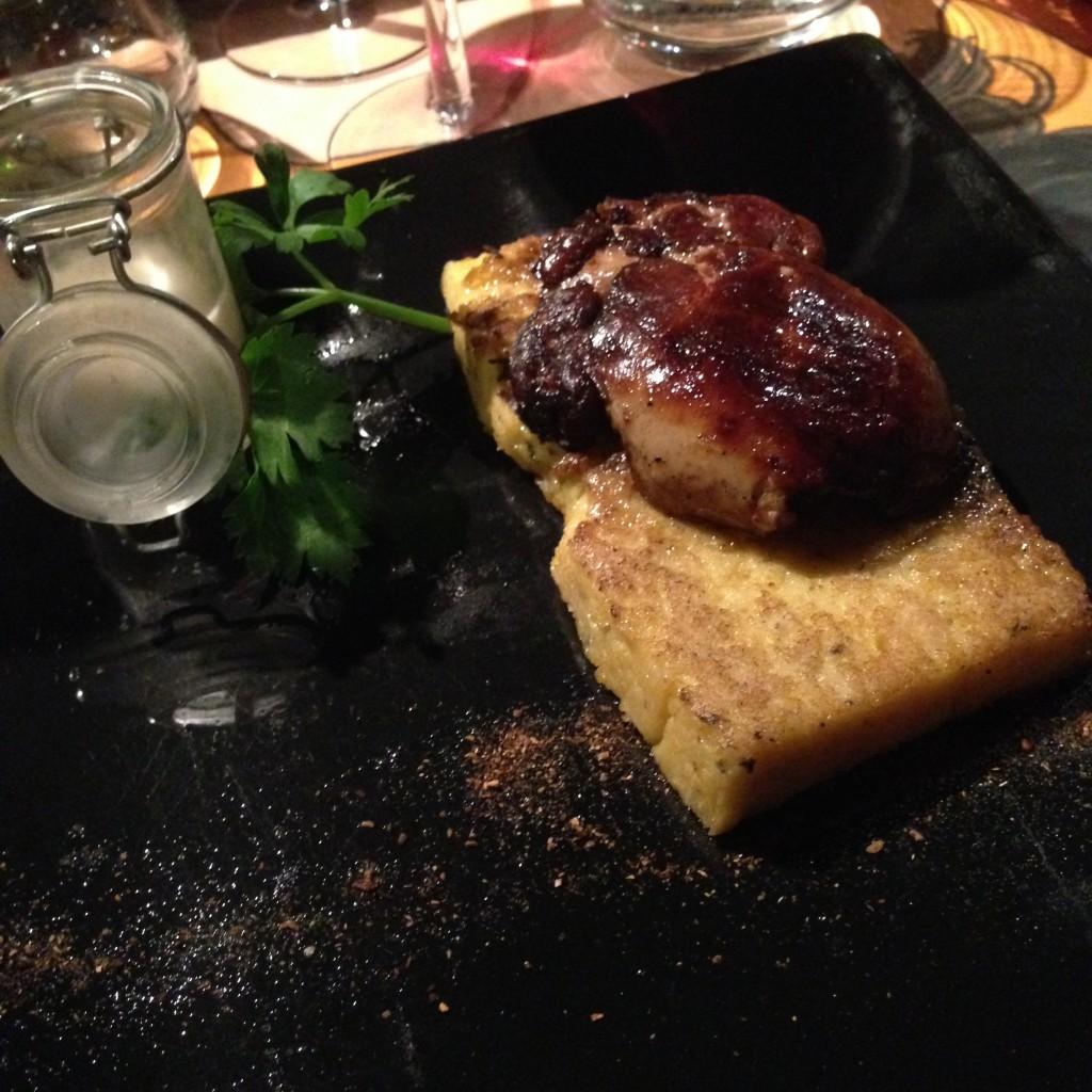foie gras poilé saveurs et cocagne