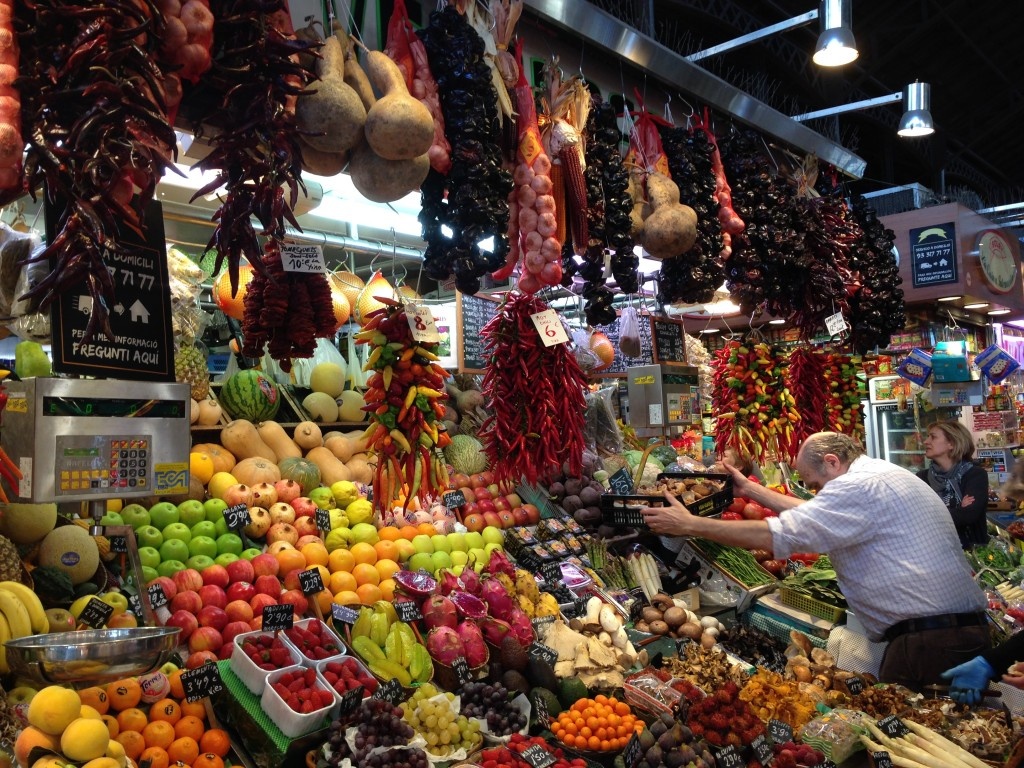 marché de Barcelone - Ramblas