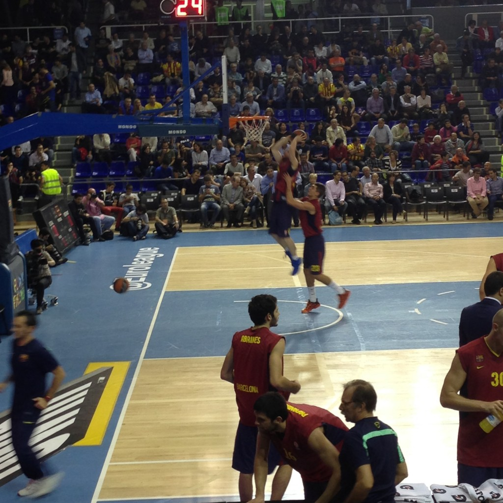 match euroligue basket FC Barcelone VS CSKA Moscou 2013