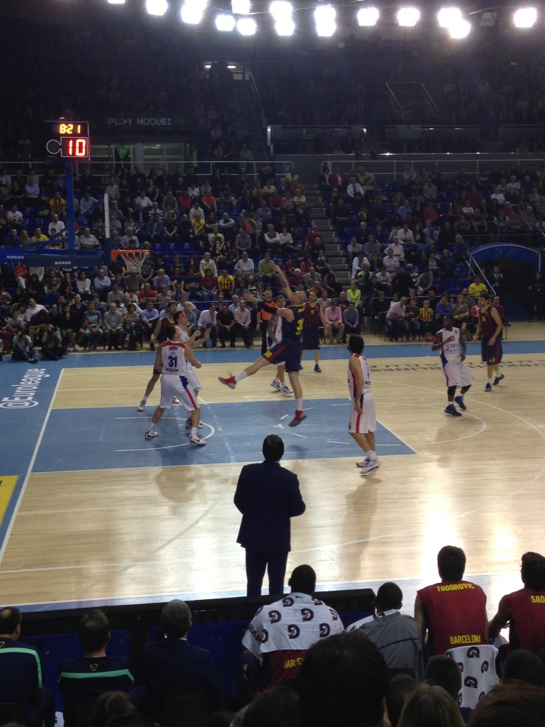 match euroligue basket FC Barcelone VS CSKA Moscou 2013 2