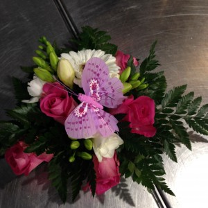 Soirée Truffaut novembre 2013 - art floral 1