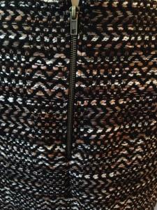détail jupe en laine 1