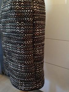détail jupe en laine 2