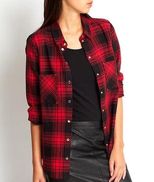 Chemise à carreaux Etam  - 22.49€