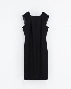 Robe noire Zara - 35.99€