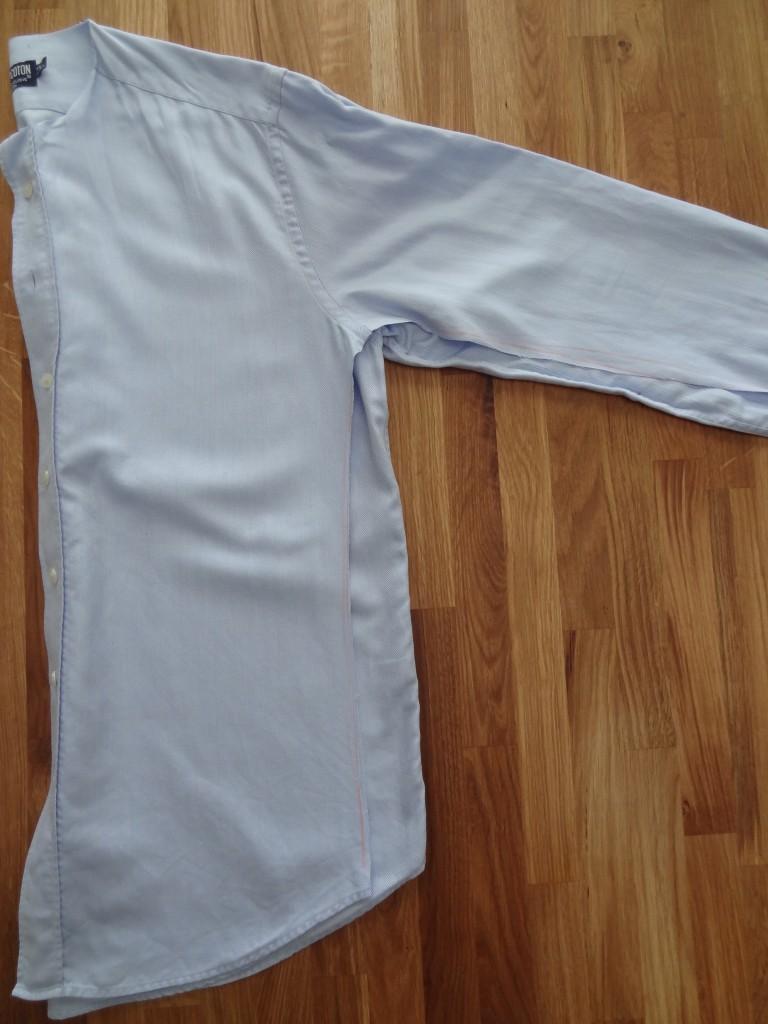 customisation de chemise étape 3