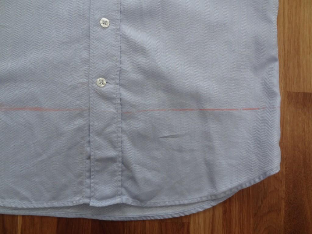customisation de chemise étape 4