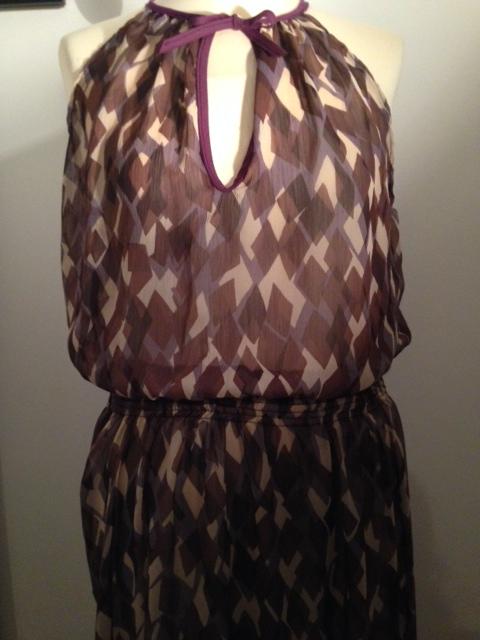 robe mousseline  imprimée 3
