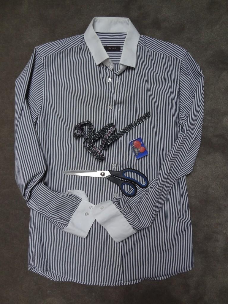 la chronique d u0026 39 aur u00e9lie     26     customiser une chemise d u0026 39 homme