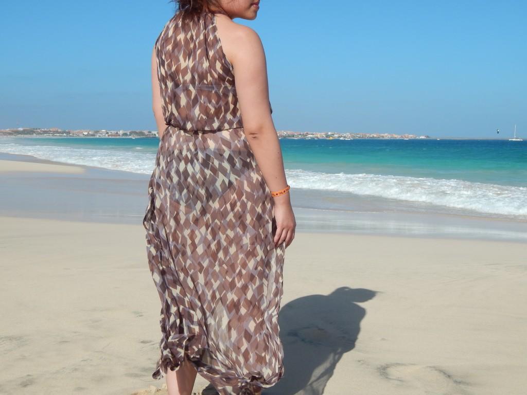 robe de plage cap vert 2