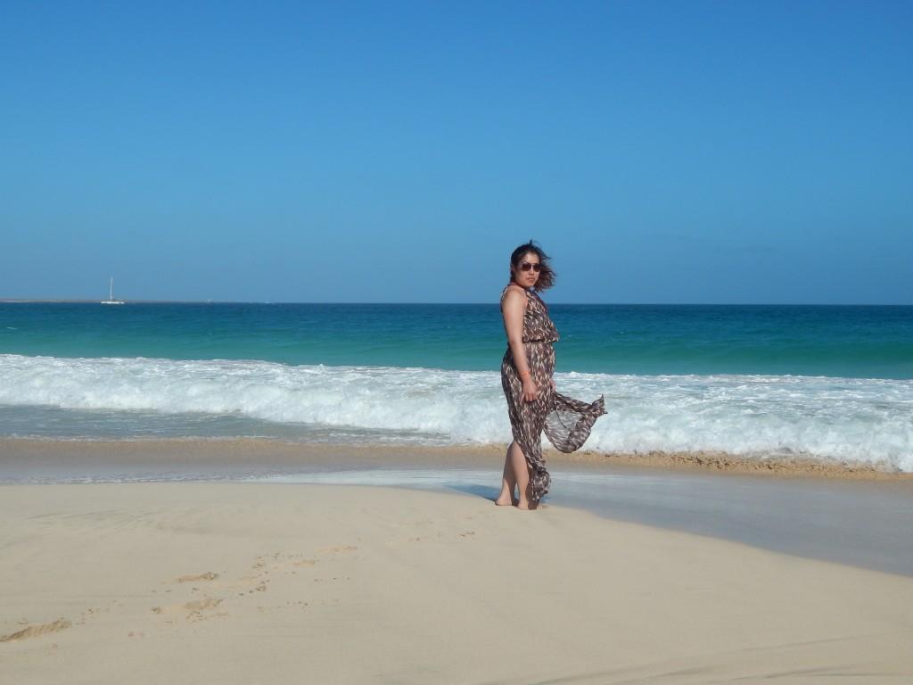 robe de plage cap vert 3