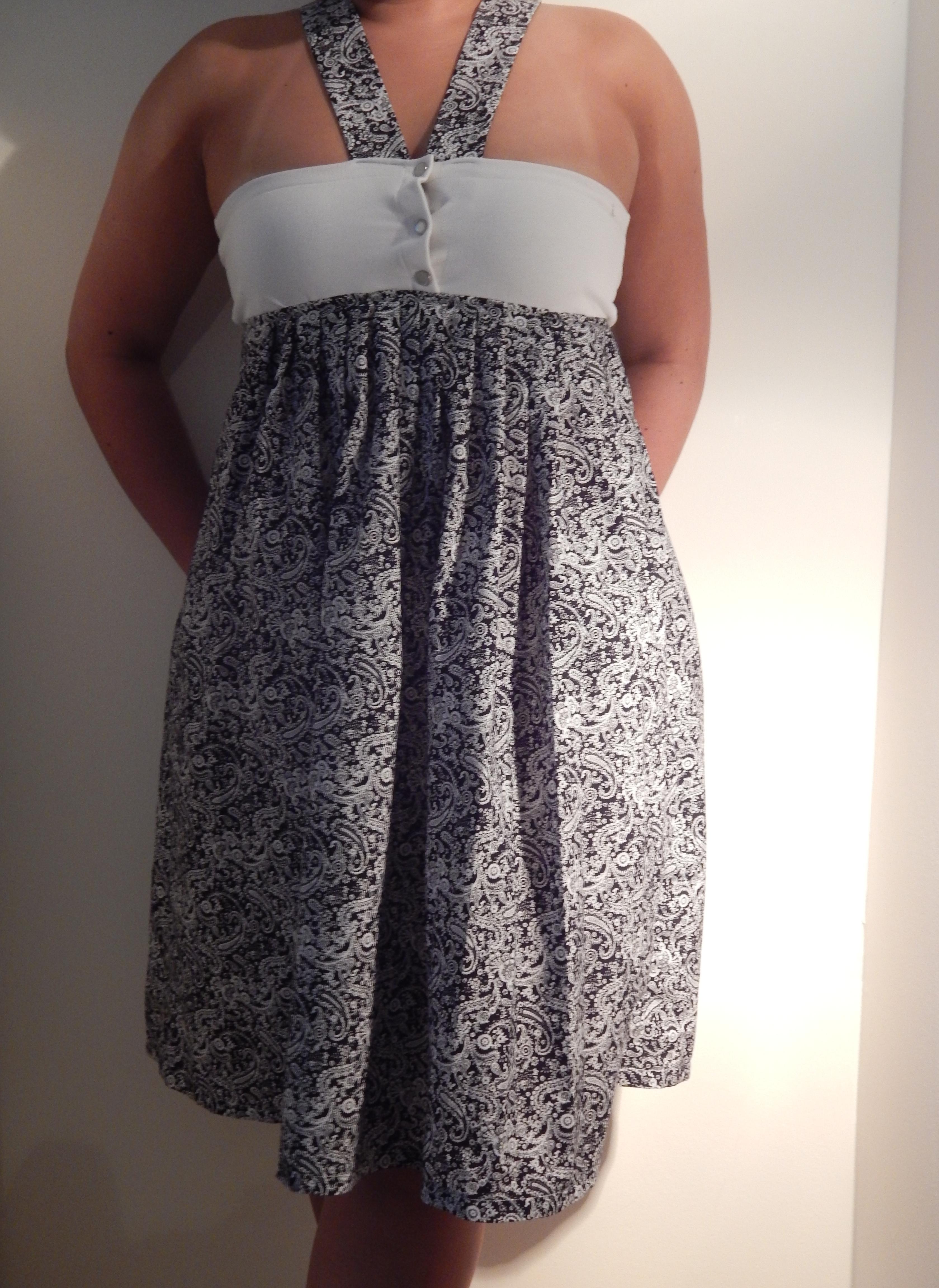 couture  u2013 transformer une robe toute simple  u2026  u2013 lagouagouache