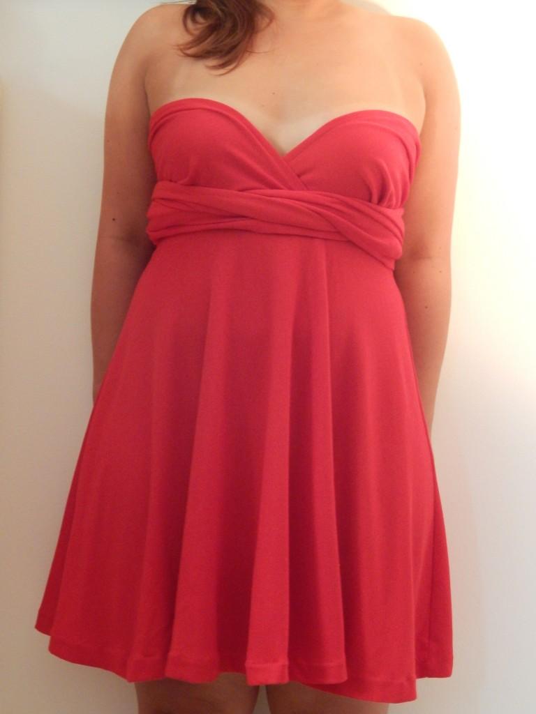 coudre une robe infinity