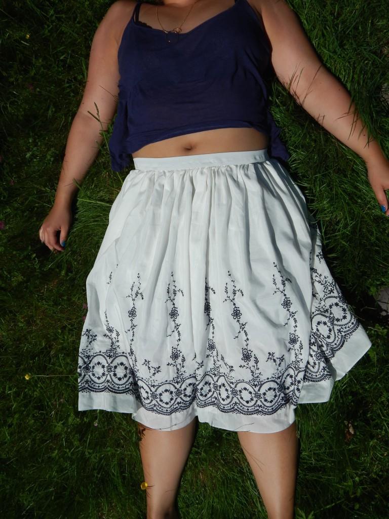 jupe brodée 2
