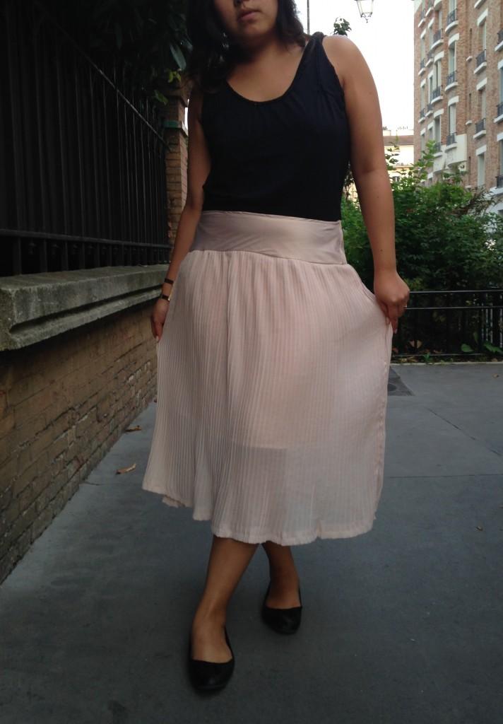 jupe plissée 2