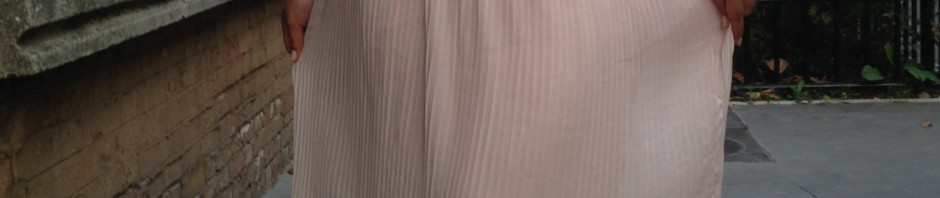 Couture – Une jupe midi plissée