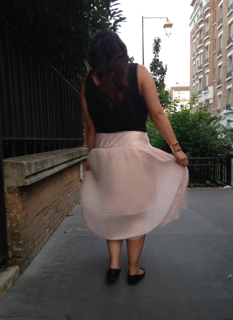 jupe plissée 4