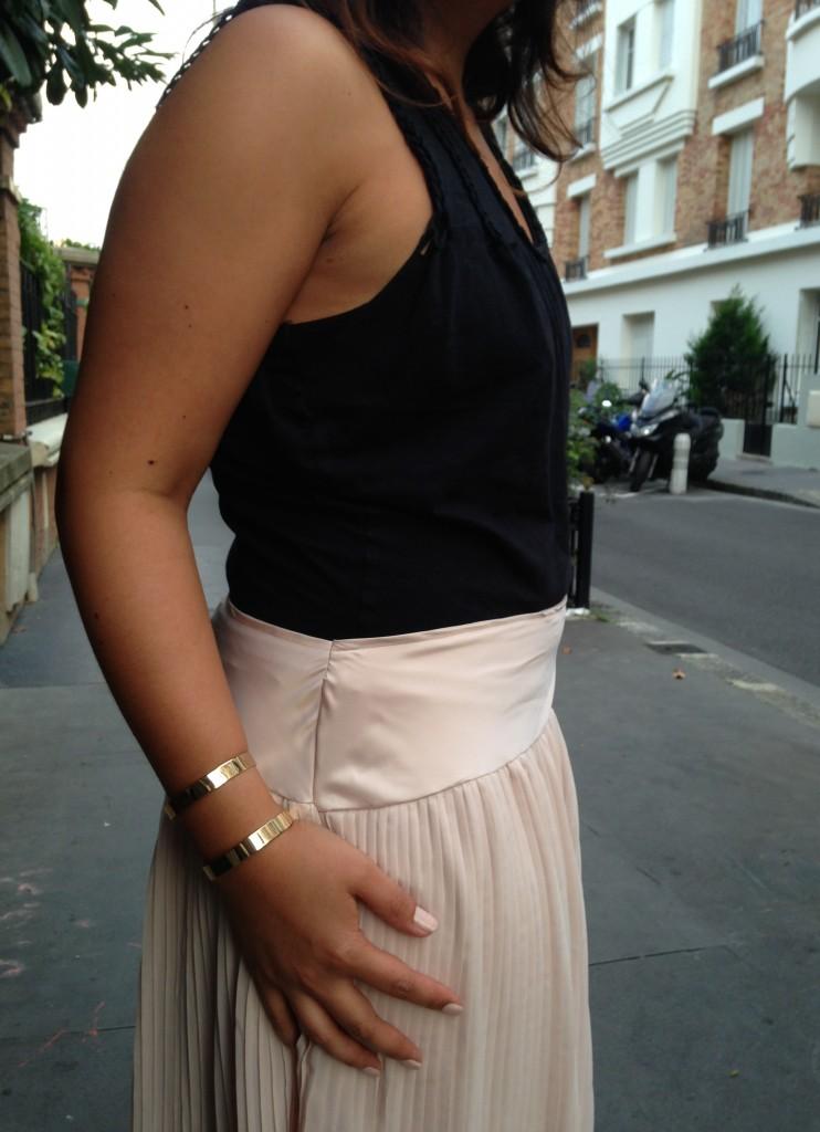 jupe plissée 1
