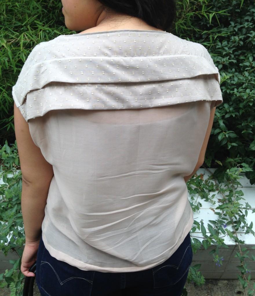 blouse plissée 4
