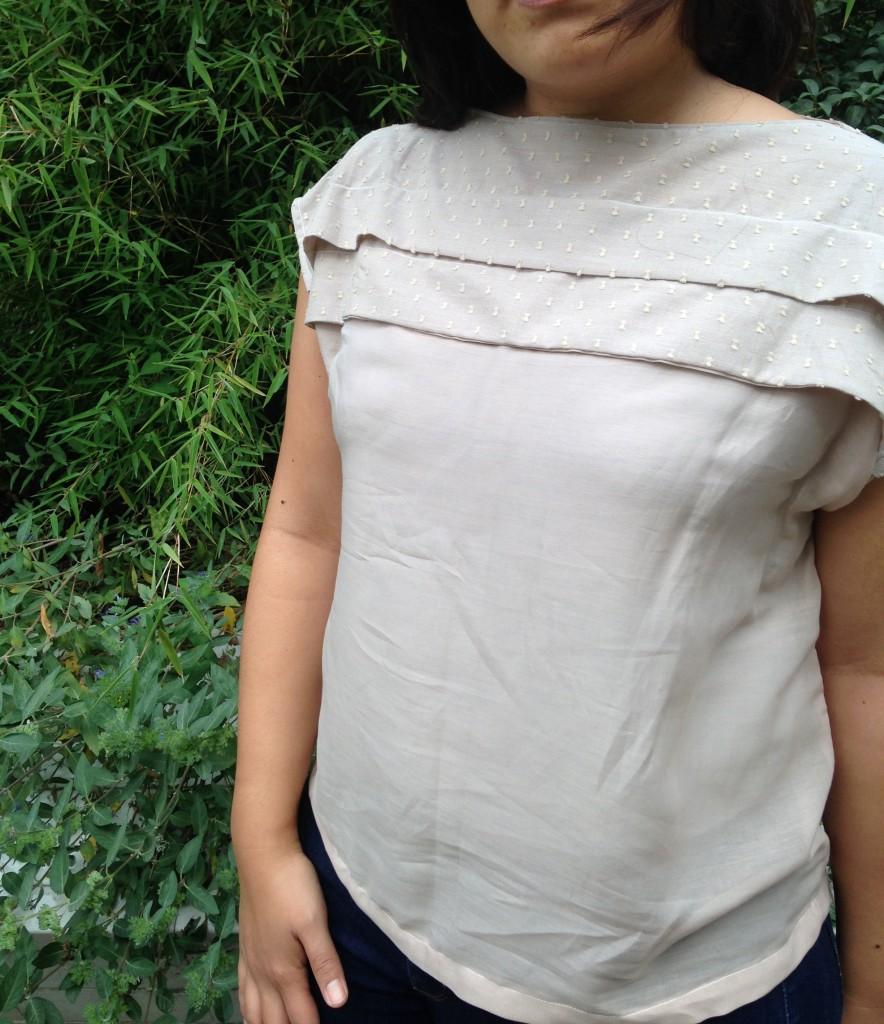 blouse plissée 2