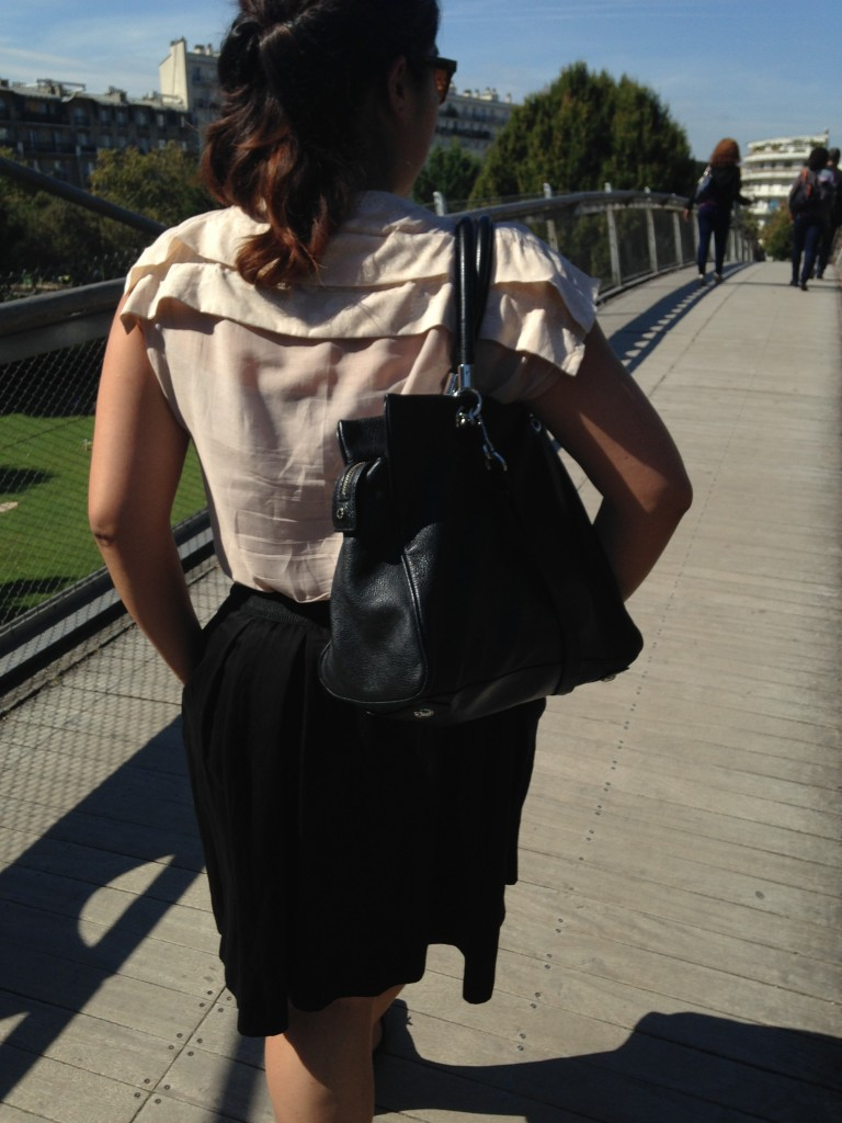 blouse plissée 1