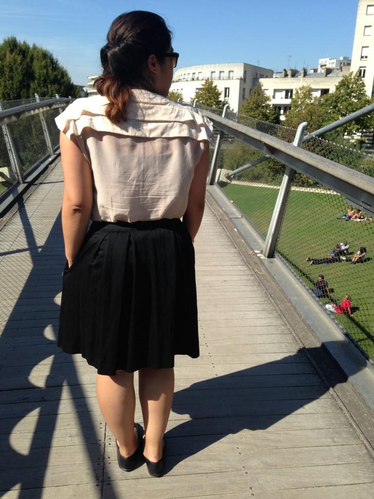 blouse plissée 6