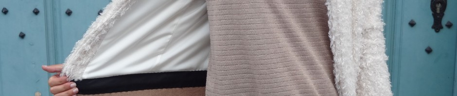 La chronique d'Aurélie //53// Customisation de ma veste mouton