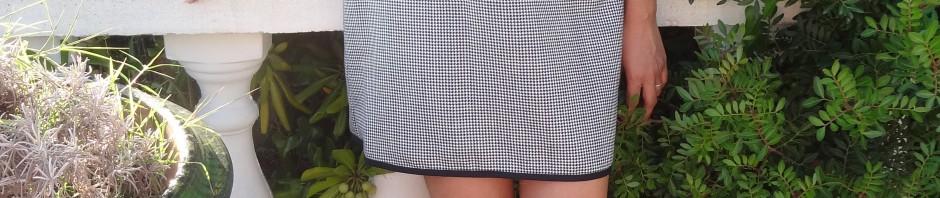 La chronique d'Aurélie //54// Mini-robe façon Twiggy