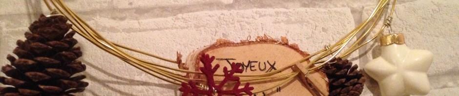 Créer sa couronne de Noël DIY avec des fils alu