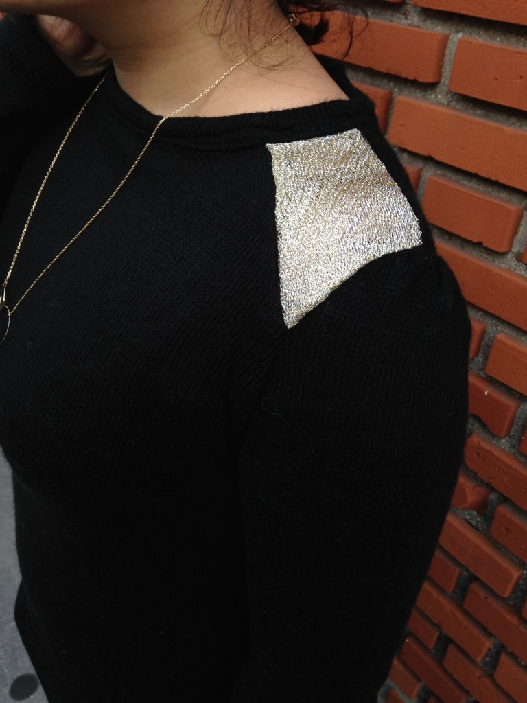 pull doré 2