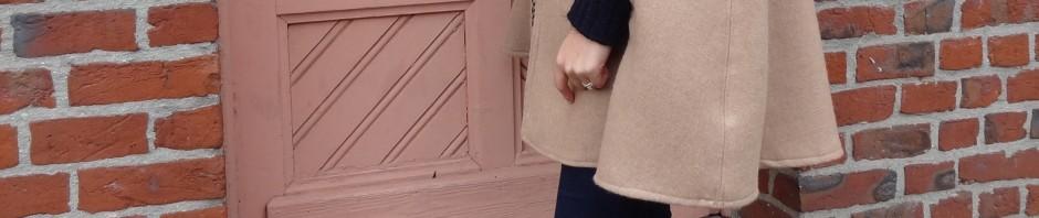 La chronique d'Aurélie //66// Débuter en couture avec une cape