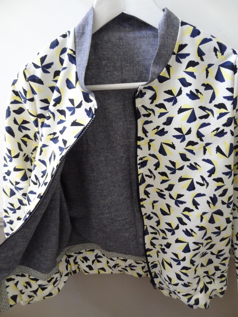 la chronique d aur lie 75 ma veste blossom des beaux jours lagouagouache. Black Bedroom Furniture Sets. Home Design Ideas