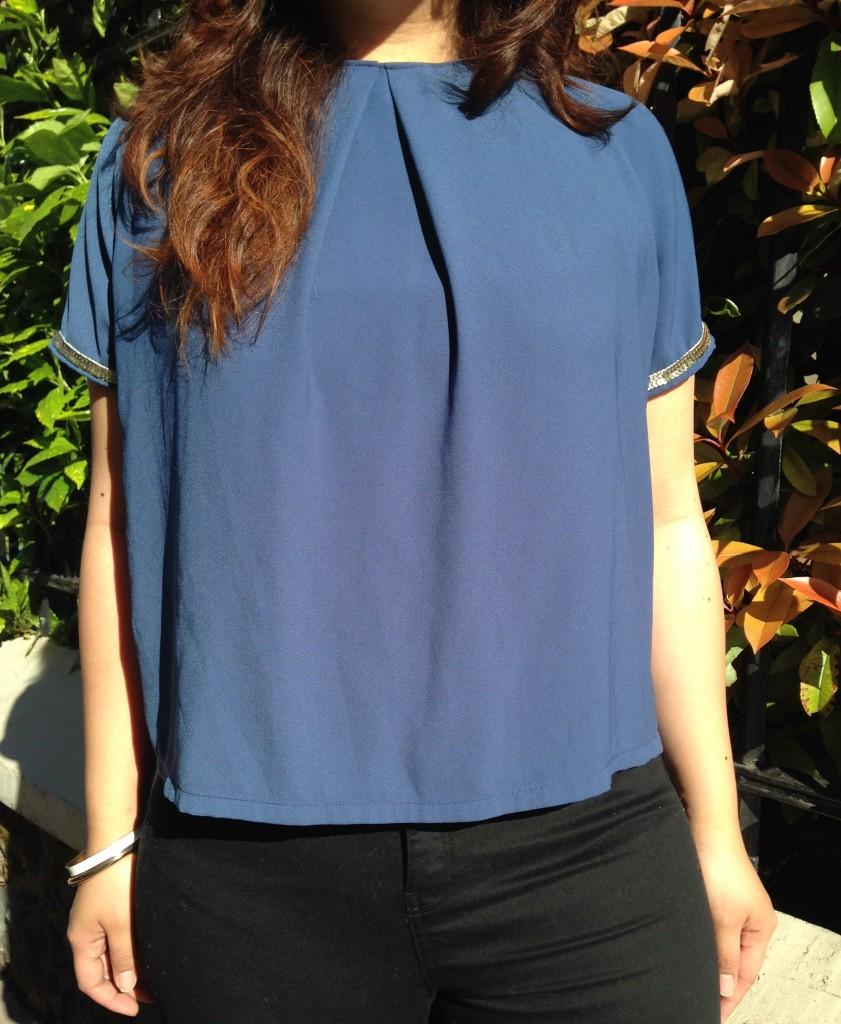 blouse bleue 5