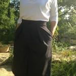 Jupe culotte en lin pour l'été