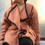 Un hiver bien au chaud avec un manteau kimono