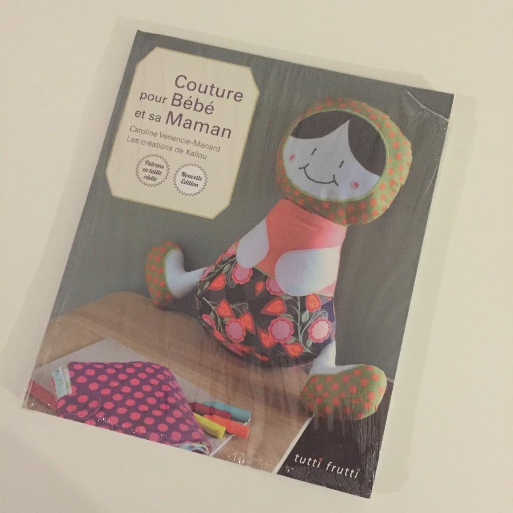 livre couture pour bébé et sa maman