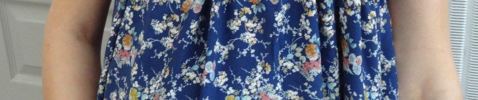 La chronique d'Aurélie //141// Robe longue pour ma fin de grossesse