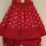 Petite robe d'été pour bébé