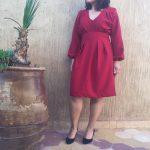Little red dress …