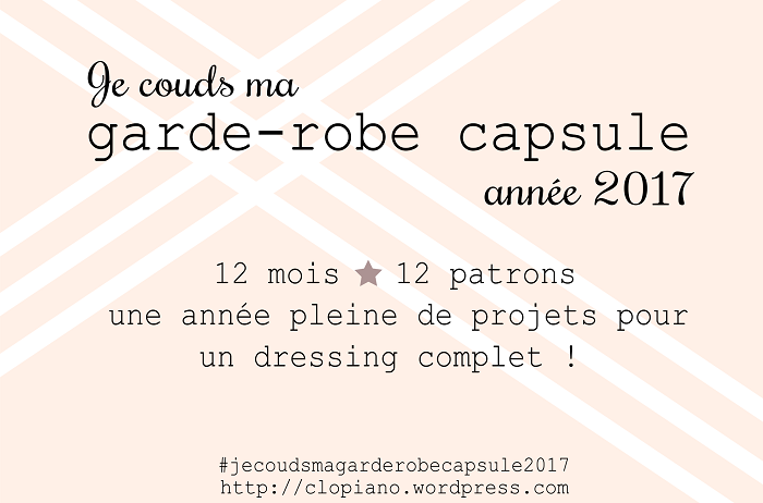 Ma garde-robe capsule 2017