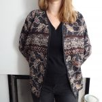 La chronique d'Aurélie //160// Mon kimono réversible